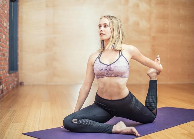 žena a jóga