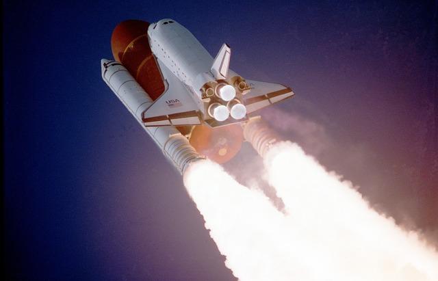 raketa v letu