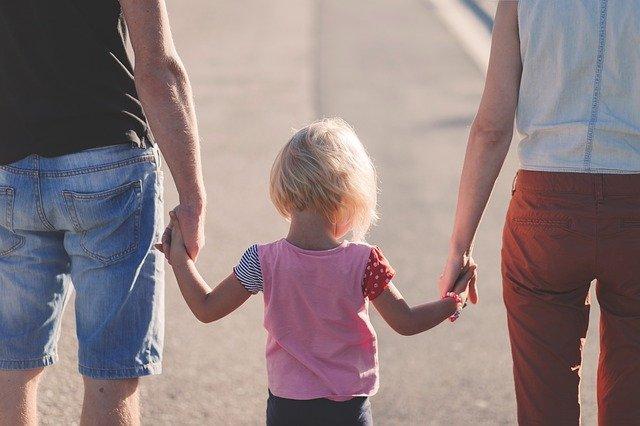 holička s rodiči