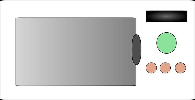 digitální mikrovlnka